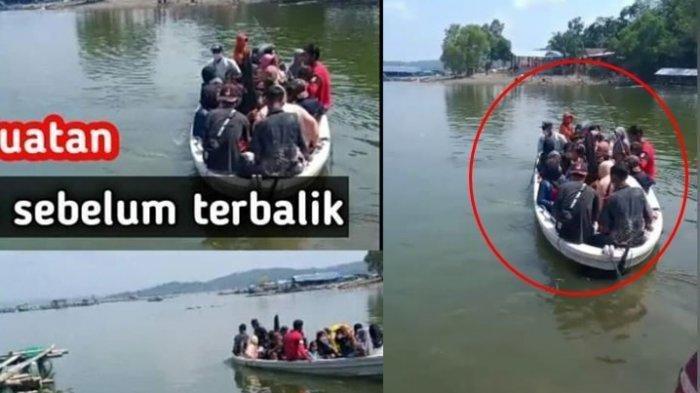 Fakta Viral Kondisi Perahu Kelebihan Muatan sebelum Terbalik di Waduk Kedung Ombo, Ini Kata Basarnas