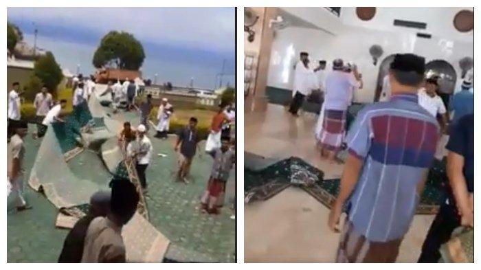 Viral Aksi Protes Warga Seret Karpet Masjid dari Caleg, Dikembalikan karena Diungkit setelah Kalah
