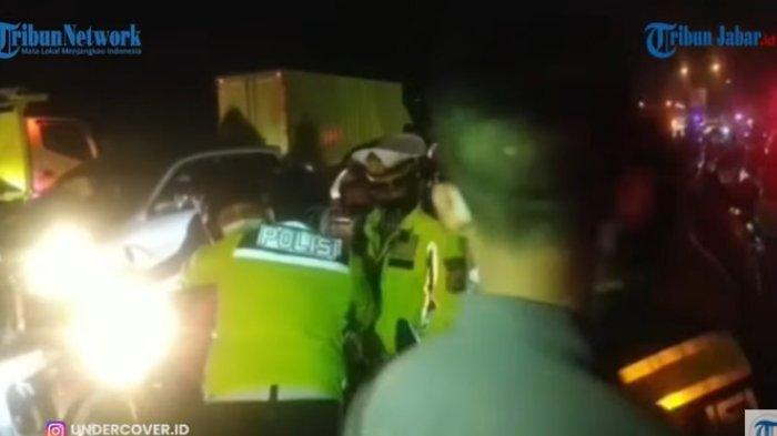 Viral Pelukan Polisi Luluhkan Pemudik yang Emosi di Karawang, Terungkap Ini Kisah di Baliknya