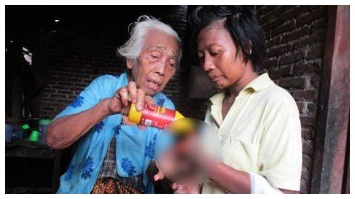 Viral Wanita Kanibal di Kediri Makan Jari-jarinya, Dimasukkan ke Kerangkeng, Begini Kondisinya