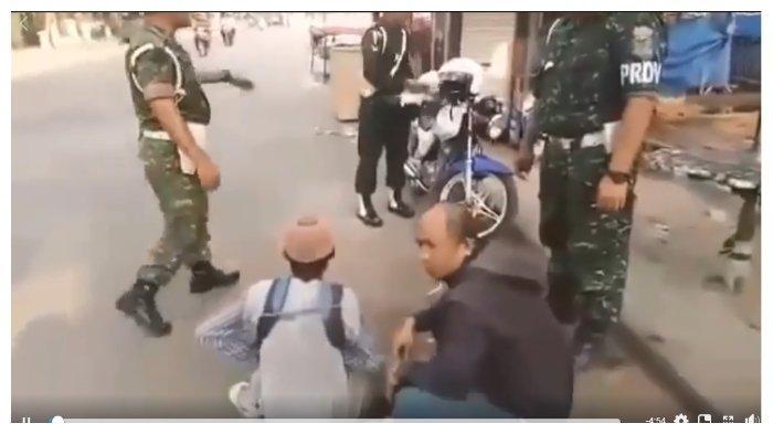 Viral di FB Pengemis Ketahuan TNI saat Nyamar Tak Punya Kaki
