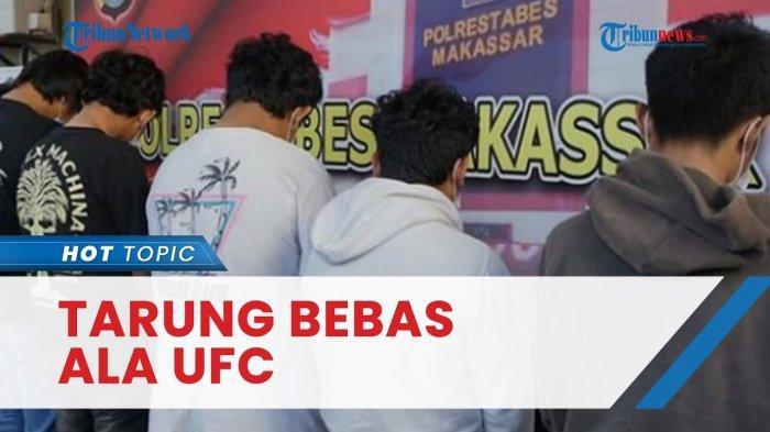 Fakta Viral Gerombolan Pelajar Tarung Bebas ala UFC, Tiket Nonton Rp 10 Ribu, Segini Hadiahnya