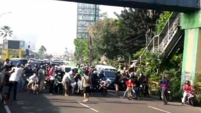 Polisi Ciduk Para Pelaku Balap Motor yang Aksinya Sempat Viral karena Tutup Jalan Raya Serpong