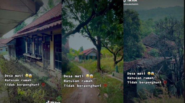 Fakta Viral Desa Mati di Majalengka, Ini Alasan Ditinggal, Lihat Penampakan Ratusan Rumah Kosongnya