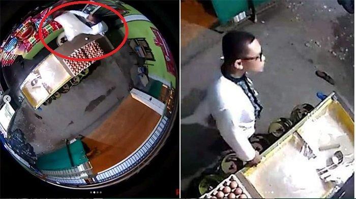Viral Video Detik-detik Pria Berbaju Koko Curi Satu Karung Beras, Lakukan saat Waktu Salat Tarawih
