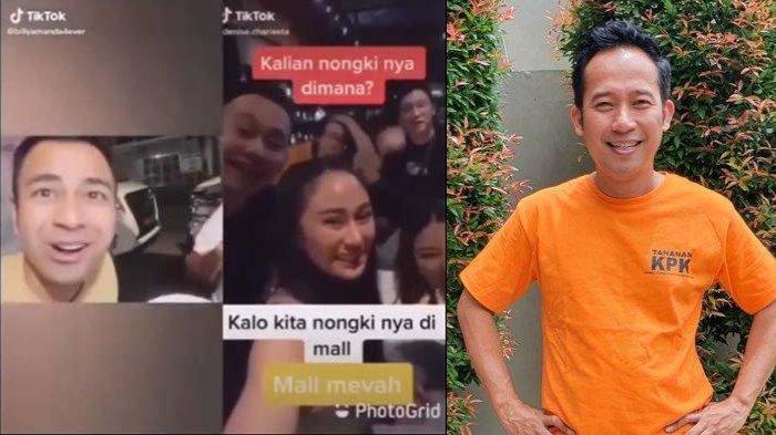 Video viral yang memperlihatkan sekelompok orang sedang nongkrong di mal dan mengaku sebagai orang kaya tampaknya memicu perhatian Denny Cagur.