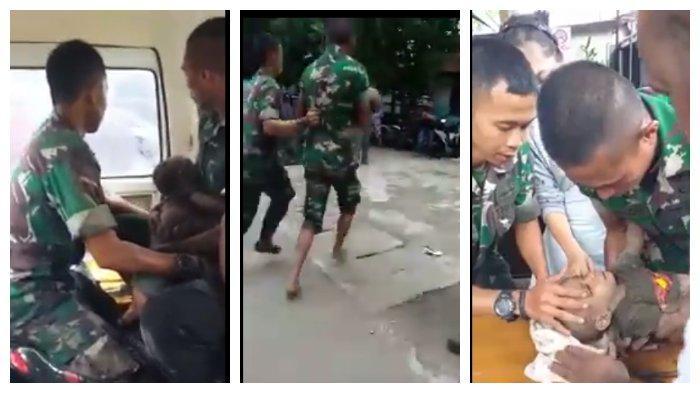 Viral Video Anggota TNI Selamatkan Bayi Korban Banjir Sentani yang Terkubur 6 Jam di Kolong Rumah
