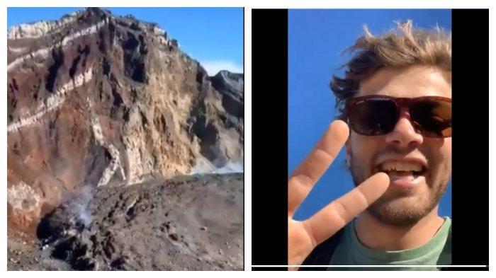 Viral Video Turis Nekat Mendaki Gunung Agung bahkan Sampai ke Kawah,