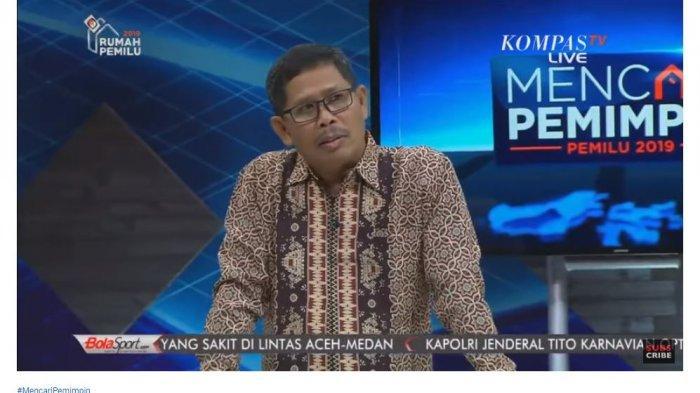 Wakil Direktur Departemen Saksi TKN Jokowi-Ma'ruf, I Gusti Putu Artha menyebut banci pada poin ketujuh permohonan sengketa Badan Pemenangan Nasional (BPN)
