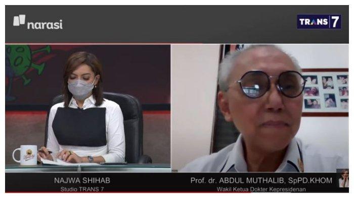 Jokowi Dituding Bukan Disuntik Vaksin Sinovac, Abdul Muthalib: Kalau Vitamin C Mungkin akan Teriak