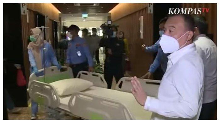 Gedung DPR Diusulkan Jadi RS Darurat Covid-19, Sufmi Dasco Ungkap Sejumlah Kendala: Tinggal Lapangan