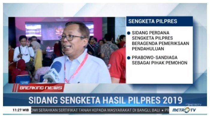 Sebut Suara Kubu 01 Hilang 22 Juta, Arsul Sani: Jokowi-Ma'ruf Ini Datang dari Langit atau Darimana?