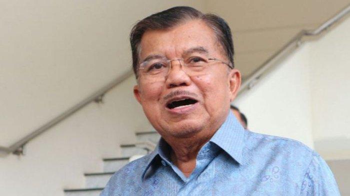 Wakil Presiden Jusuf Kalla ketika ditemui di kantor wakil presiden RI, Jalan Medan Merdeka Utara, Jakarta Pusat, Selasa (6/2/2018).