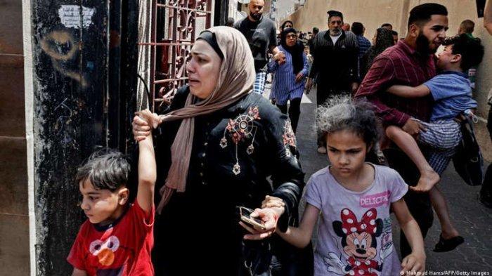 Curhatan Pilu Ibu-ibu di Gaza karena Serangan Israel: Malam Menakutkan, Rumah Bisa Jadi Kuburan