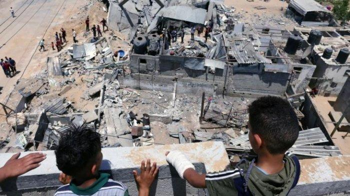 Pengungsi Palestina Mulai Kembali ke Gaza, Mengaku Lega Gencatan Senjata dengan Israel Disepakati