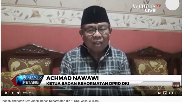 Ketua BK DPRD DKI Akui Tak Mudah Urus Perkara William, Achmad: Rapat Berkali-kali untuk Kesimpulan