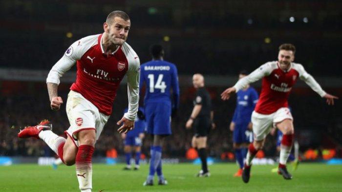 Link Live Streaming Bournemouth vs Arsenal, Jack Wilshere Dipastikan Tampil