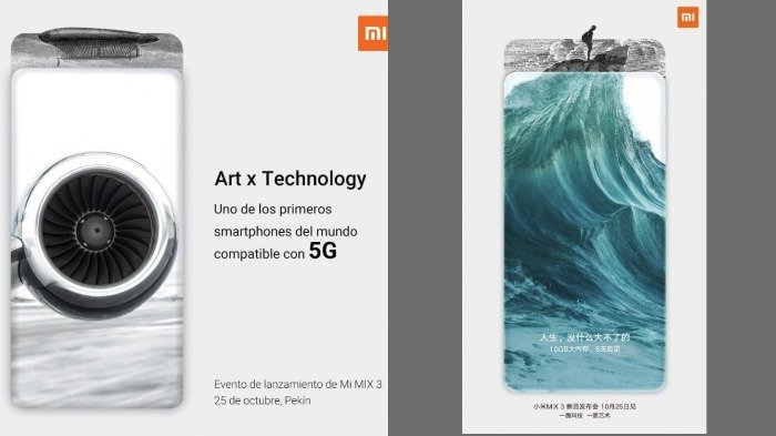 Xiaomi Mi Mix 3 dengan teknologi 5G dan RAM 10 GB