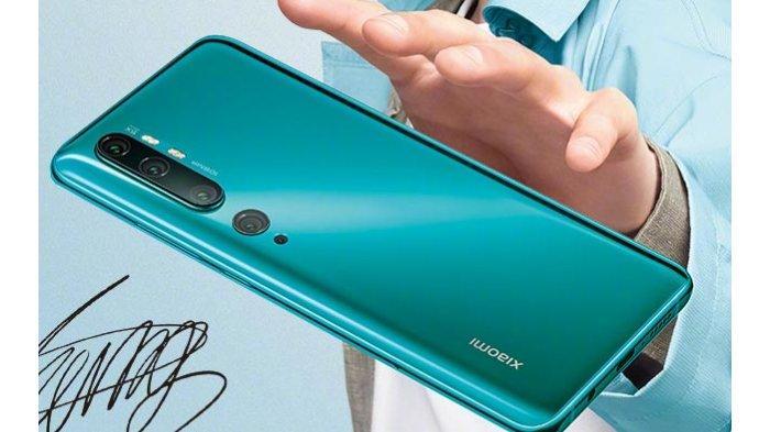 Intip Bocoran Spesifikasi Xiaomi Mi Note 10, Dilengkapi Kamera 108 Megapiksel