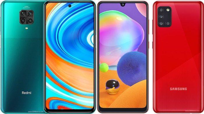 Daftar Rekomendasi HP RAM 6 GB: Xiaomi Redmi Note 9 Rp 2 Jutaan, Samsung Galaxy A31 Rp 4 Jutaan
