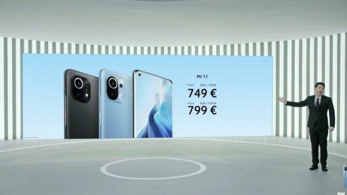 Xiaomi resmi meluncurkan Mi 11 secara global, Senin (8/2/2021).