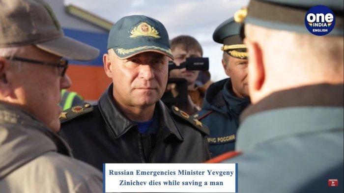 Menteri Darurat Rusia, Yevgeny Zinichev.