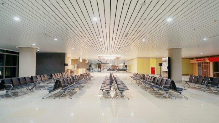 Penampakan ruang tunggu di Yogyakarta International Airport (YIA).