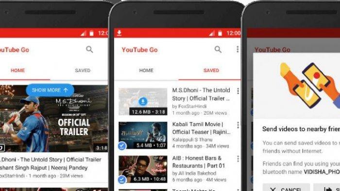 YouTube Go, solusi streaming video di daerah dengan internet yang lambat