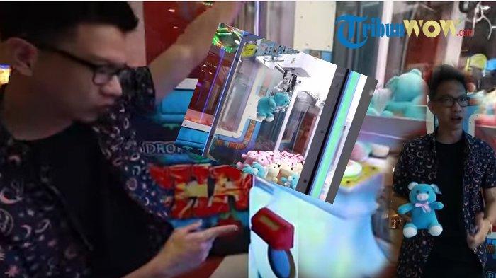 Lihat Videonya, Wow Mudah Banget! Youtuber Ini Beber Cara 'Curang' Dapat Terus di Mesin Capit Boneka