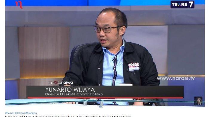 Jawaban Yunarto Wijaya saat Diminta Najwa Shihab Bandingkan Pidato Jokowi-Prabowo soal Aksi 22 Mei
