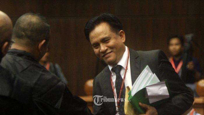Yusril Ihza Mahendra: Kami Bisa Tanya ke Pak Jokowi, Ini Sidang Sudah Selesai, Ada Kesaksian Palsu