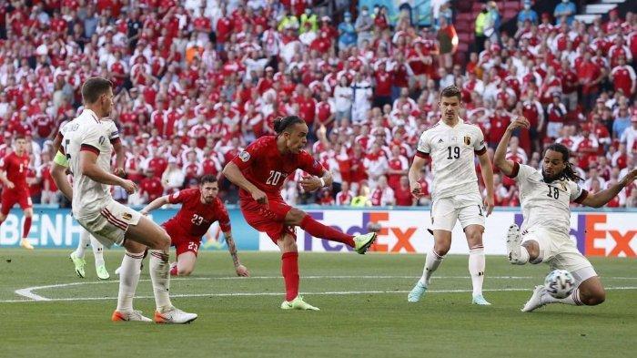 Daftar 7 Gol Cepat di Piala Eropa, Gol Poulsen ke Gawang Belgia Rupaya Bukan yang Tercepat di EURO