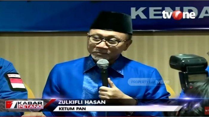 Yakini Kemenangan Telak Gibran di Pilkada Solo 2020, Zulkifli Hasan Sebut Bisa Lebih dari 75 Persen