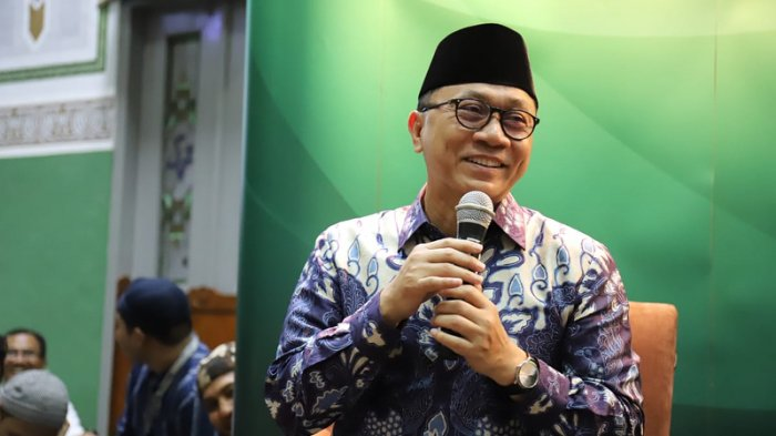 Penjelasan Zulkifli Hasan soal Pertemuannya dengan Jokowi hingga Isu PAN akan Pindah ke 01