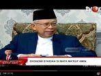 Usung Konsep Ekonomi Syariah, Maruf Amin Ingin Bentuk Badan Khusus Setingkat Menteri